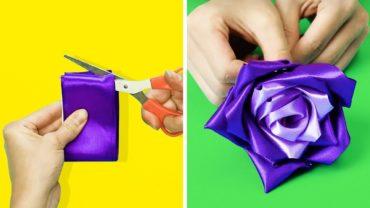 19 Mind Blowing Flower Crafts