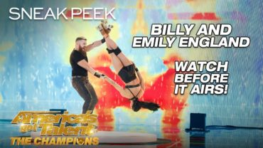 Roller Skating Acrobats By Billy And Emily At AGT 2019