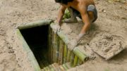 Incredible Guy Builds A Secret Base