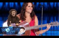 The Ventriloquist Nina Conti's Singing Monkey