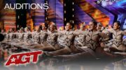 Incredible Performance By Emerald Belles Dance Team At AGT 2019