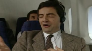 In The Flight With Mr. Bean