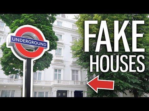 London's Surprising Fake Houses