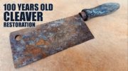 Hardworking Crafter Restores The 100 YO Antique Cleaver