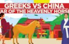 The Historic Greek And Chinese War