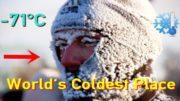 The World's Coldest Inhabited Place: Oymyakon, Siberia