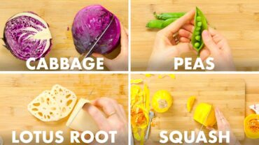 Master The Art Of Chopping Vegetables